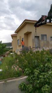 ניסור מרפסת בטון